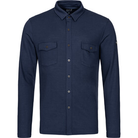 super.natural Wayfarer Pocket Shirt Heren, blue iris